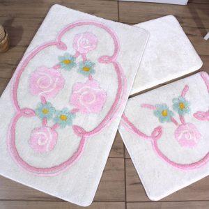 купить Коврик в ванную Chilai Home Jadore Ecru 60x100