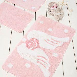 Коврик в ванную Chilai Home Melek Pink 60×100