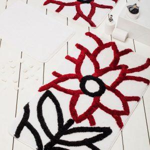 купить Коврик в ванную Chilai Home Naturel Red 60x100