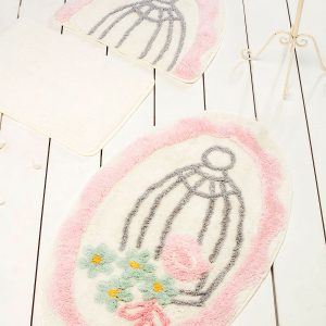 Коврик в ванную Chilai Home Sweet Bird Pink 60×100