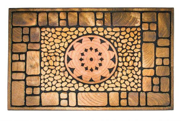 купить Коврик в прихожую Mozaik Notre Dame 45x75