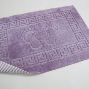 Коврик для ванной Lotus – аметистовый 50×70