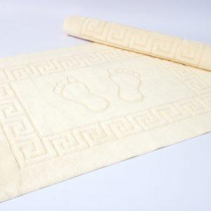 купить Коврик для ванной Lotus - молочный 50x70