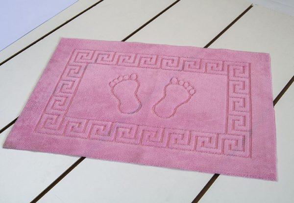купить Коврик для ванной Lotus - розовый 50x70