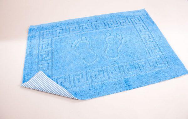 купить Коврик для ванной Lotus - синий 50x70