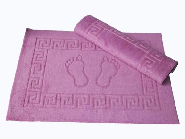 купить Коврик для ванной Lotus - темно-розовый 50x70