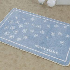 купить Коврик для ванной Marie Claire - Breeze mavi голубой 66x107