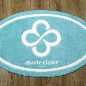 купить Коврик для ванной Marie Claire - Sally аква овал 66x107
