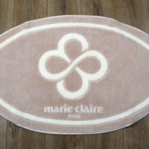 купить Коврик для ванной Marie Claire - Sally бежевый овал 66x107