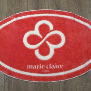 купить Коврик для ванной Marie Claire - Sally коралловый овал 66x107