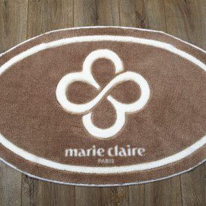 купить Коврик для ванной Marie Claire - Sally коричневый овал 66x107