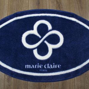купить Коврик для ванной Marie Claire - Sally темно синий овал 66x107