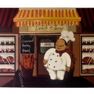 Коврик универсальный Comfort Eko Delish Bakery 45×75