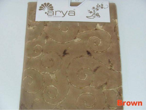купить Коврик Arya 70x120 Sarmasik Коричневый