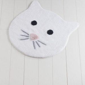 купить Коврик Chilai Home Cat White 90x90