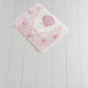 купить Коврик Chilai Home Dantel Pink 50x60