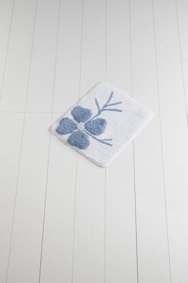 купить Коврик Chilai Home Kircicegi (Lurex) Blue 50x60