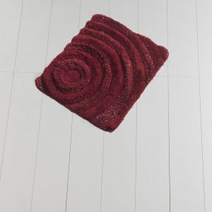 Коврик Chilai Home Wave(Lurex) Red 50×60