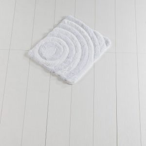 Коврик Chilai Home Wave(Lurex) White 50×60