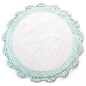 купить Коврик Irya - Doreen mint-beyaz ментол 90 см. диаметр