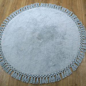 купить Коврик Irya - Lora a.gri серый 90 см. диаметр