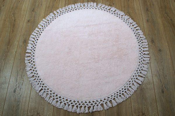 купить Коврик Irya - Lora pembe розовый 90 см. диаметр