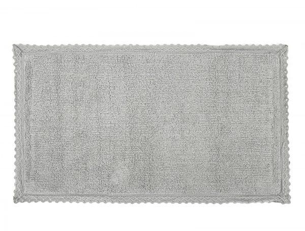 купить Коврик Irya - Polka acik gri серый
