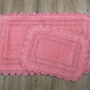 Коврик Irya – Sahra pembe розовый