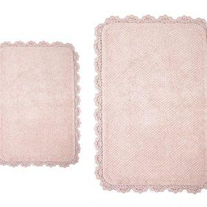 купить Коврик Irya - Serra pembe розовый 70x110