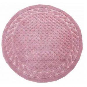 Круглый коврик Arya 120 см Berceste Розовый