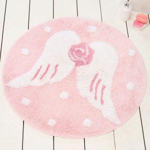 купить Круглый коврик Chilai Home Melek Pembe Yuvarlak 90 см. диаметр