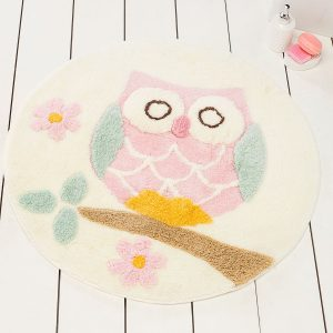 купить Круглый коврик Chilai Home Owl Ekru 90 см. диаметр