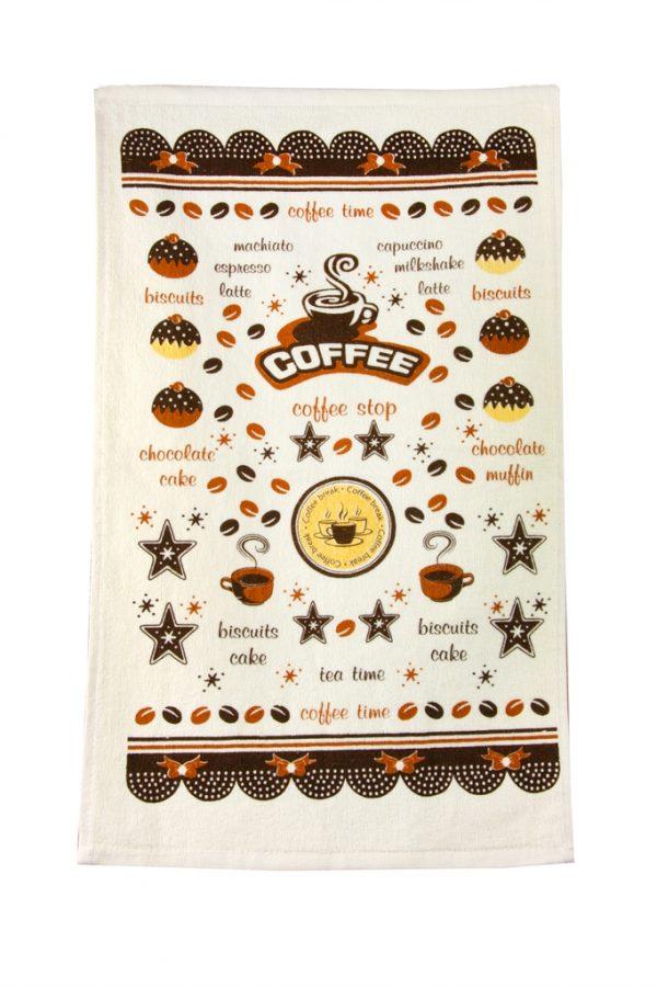 купить Кухонное полотенце Кофе 30x50см кофейное
