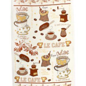 купить Кухонное полотенце ЛеКафе 40x60см кофейное