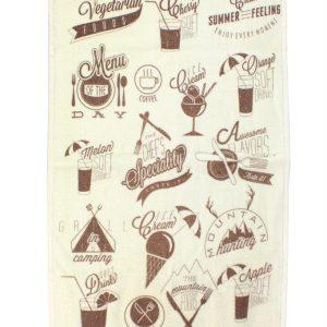 купить Кухонное полотенце Лето 40x60см бежевое