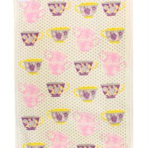 купить Кухонное полотенце Чашка 40x60см розовое