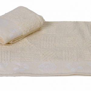 Кухонное полотенце MEYVE krem 30×50см кремовое