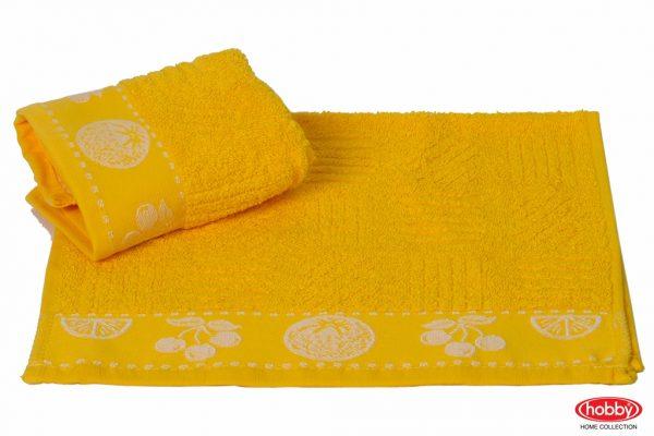 купить Кухонное полотенце MEYVE sari 30x30см желтое