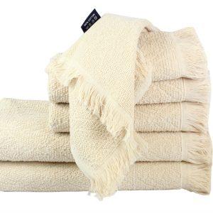 купить Махровое полотенце Aquarelle кремовое