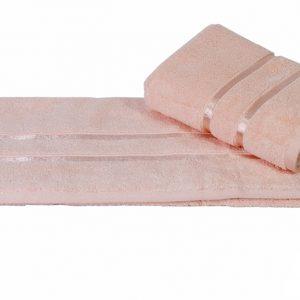 купить Махровое полотенце DOLCE розовое