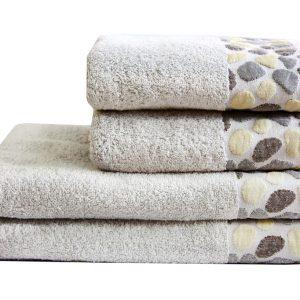купить Махровое полотенце Gravel серое