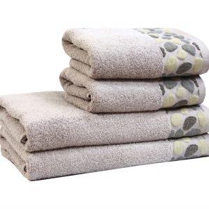 купить Махровое полотенце Gravel сиреневое