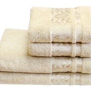 Махровое полотенце Lale кремовое