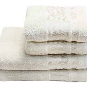 Махровое полотенце Lale крем