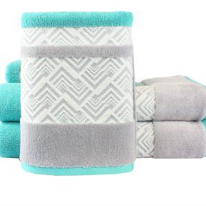 купить Махровое полотенце NAZENDE бирюзовое