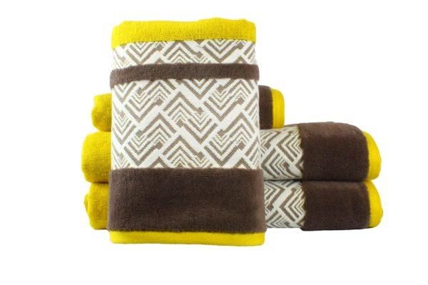 купить Махровое полотенце NAZENDE желтое