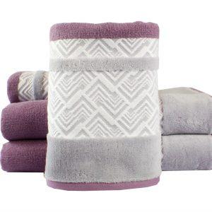 купить Махровое полотенце NAZENDE лиловое