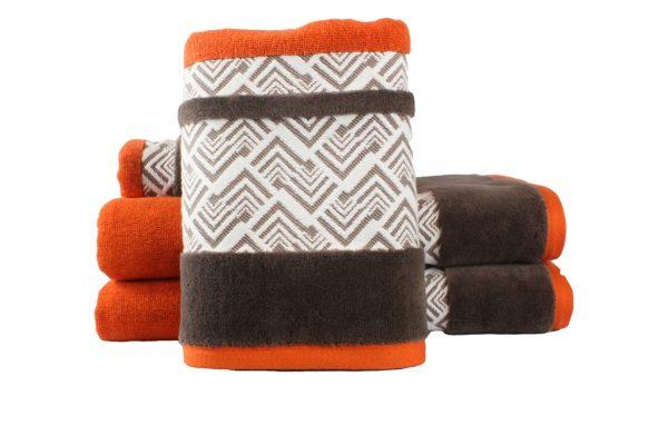 купить Махровое полотенце NAZENDE оранжевое