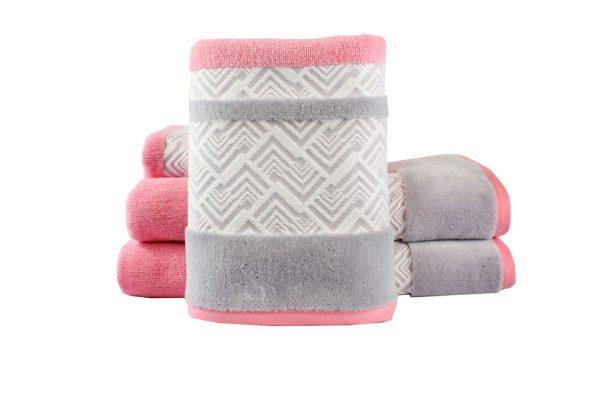 купить Махровое полотенце NAZENDE розовое
