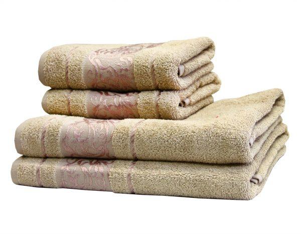 купить Махровое полотенце Ottoman бежевое